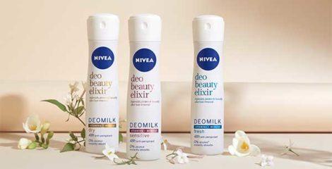 Nivea Beauty elixir deo milk